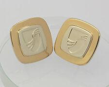 ♦♦ Tiffany ♦♦ Herren Manschettenknöpfe in 925er Sterlingsilber Silber 750 Gold