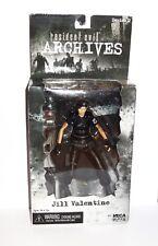Neca Resident Evil Jill Valentine Black Variant Figure Rare Biohazard Toy New