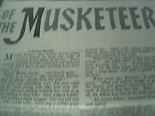 film 1962 article sons musketeers madame michon golden cockerel