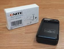 Onite Black Multi-Function Fast Battery Charger For Galaxy S4 / S3 **READ**