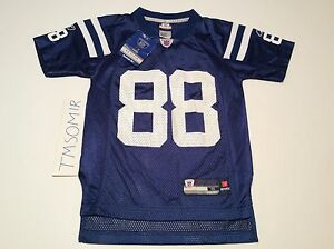 INDIANAPLIS COLTS MARVIN HARRISON REEBOK AUTHENTIC ON FIELD JERSEY NWT YOUTH S