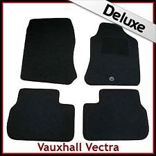 VAUXHALL VECTRA B 1995-2002 1-eyelet Tailored LUXURY 1300g Carpet Car Mats BLACK