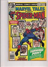Marvel Tales #98 Comic Book. 1st Print. Reprints Spiderman #121. Death of Gwen!