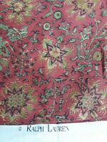 "Vintage UPSCALE HIGH END RALPH LAUREN ""New London"" - 5.8 YDS X  212 x57"