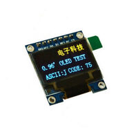 "3-5V 0.96"" SPI Serial 128X64 OLED LED LCD Display Module blue yellow F Arduino U"