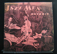 Burrell Flanagan Chambers... - Jazzmen: Detroit LP VG+ MG-12083 RVG Vinyl Record