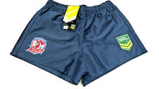 NRL SYDNEY ROOSTERS AWAY  SUPPORTER SHORTS - BRAND NEW