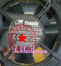 FENGDA FD1225A2HST 220-240V 0.08-0.09A 15-18W aluminum frame cooling fan MU36 QL