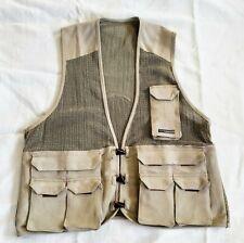Exofficio Unisex Fishing / Outdoor Vest Size Xl Jute / Cotton