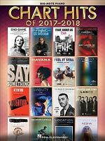 Chart Hits of 2017-2018 : Big Note Piano, Paperback by Hal Leonard Publishing...