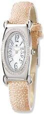 Ladies Charles Hubert Pink Stingray 0.68ctw Diamond 21x38mm Watch