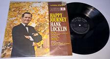 HANK LOCKLIN Happy Journey GERMAN LP living stereo RCA Victor TELDEC LSP-2464