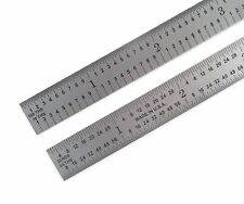 "Blem Cosmetic Second PEC 6"" Flexible Satin 5R 10/100/32/64ths machinist ruler"