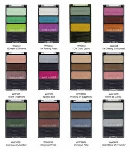 Wet N Wild Color Icon Eye Shadow Trio Choose Your Shade New Sealed