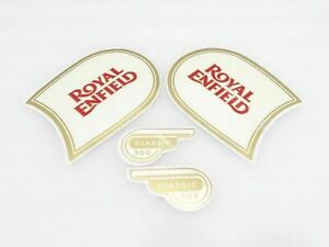 New Royal Enfield Classic 500 Fuel Tank And Tool Box Sticker Set