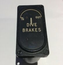 NOS SMITHS Vickers Valiant Airbrake Position Indicator 6A/4818 qty 1 (A)
