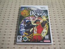 Legend of the dragon pour nintendo wii et wii u * OVP *