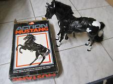 Action Mustang, Action Figur, Spiel Pferd, voll Beweglich,70er Jahre