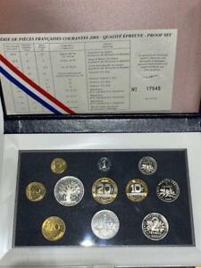 Coffret BE Francs 2001
