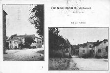 9095) CA' DEL COSTA, MONGHIDORO (BOLOGNA), 2 VEDUTINE. VIAGGIATA NEL 1922.