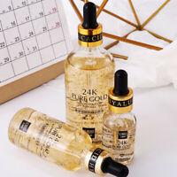 Gold 24k Tense Moisture Essence Pure Hyaluronic Acid Serum Anti Wrinkle L