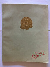 PLAQUETTE SINGER ILLUSTRE MACHINE A COUDRE 1952 CATALOGUE NOTICE GUIDE
