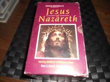 JESUS OF NAZARETH BOX SET VHS