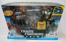Hasbro Transformers Prime Optimus vs Megatron First Edition Figure Pack with DVD