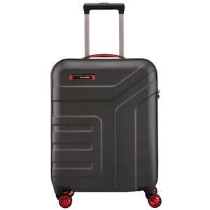 Travelite Vector 4-Rollen ABS Bordtrolley Kabinen Trolley S 55 cm 2,6 kg 40 L
