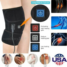 Electric Knee Heated Pad Warmer Heating Therapy Wrap Brace Arthritis Relief Pain