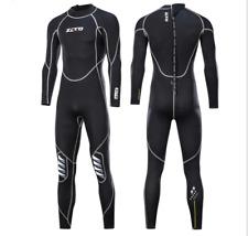 Women Men 3mm Neoprene Dive Suits Scuba Snorkeling Free Dive Long Warm Wetsuits
