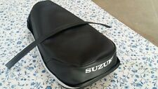 suzuki ts125 ts185 tc125 seat cover with strap fit 1971 to 1973  (#8)