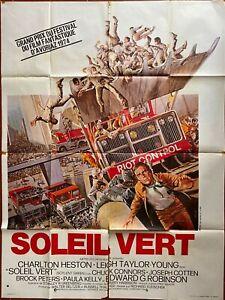 Affiche cinéma Soleil vert charlton heston (1973)