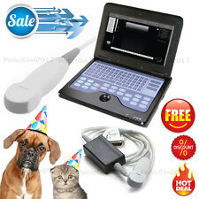 CE Portable Ultrasound Scanner Veterinary Laptop Machine Micro Convex Dog/Cat