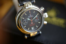 Poljot Basilika Chronograph 3133 black edition + box and original papers