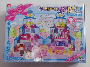 SEGA TOYS/SPIN MASTER ZOOBLES : CANDY TREE HOUSE Playset New Rare