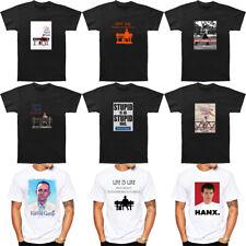 Men's Forrest Gump Romance Comedy Drama Movie 1994 Stupid Is T-Shirt Tee Black