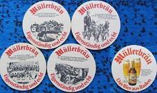 Bierdeckel Serie Sammlung - Schweiz - Müllerbräu Baden Aargau - Badener Gold