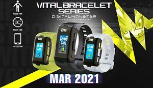 [Pre-order] Digimon Vital Bracelet Series ver. Black, White, Special BANDAI