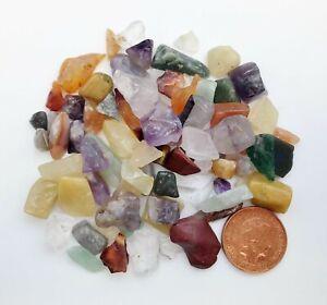 50g x Mixed Rainbow Crystal Tumblestone Chips