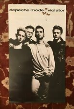 Depeche Mode 00004000  Violator rare original promotional poster from 1990