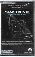 Star Trek III: The Search For Spock Soundtrack Music Cassette GNP NEW UNUSED
