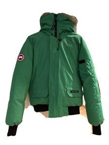 "Canada Goose ""Chilliwack"" Jade Green Bomber (Größe L)"