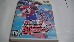 Mario Super Sluggers Game For Nintendo Wii  -NTSC-