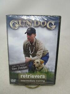 GUN DOG RETRIEVERS INTERMEDIATE TRAINING DVD (WITH TOM DOKKEN) (SEALED)