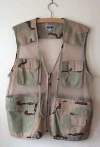 Mens Outdoor Hiking Fishing Hunting Camouflage Gilet