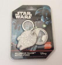 Star Wars Disney Millenium Falcon Bottle Opener Key Ring - Brand New