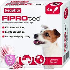 Beaphar FIPROtec Spot On SMALL DOG 4 Pipette Treatment - Flea Tick Fipronil