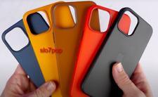 Apple Echt Original MagSafe Leder Hülle für iPhone 12 Mini,12,12 Pro,12 Pro Max