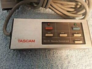 TASCAM RC-71 REMOTE CONTROL UNIT WITH CABLE